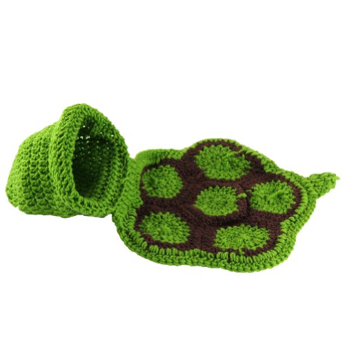 Cute Baby Infant Tortoise Newborn Turtle Costume Photo Photography Prop 0-6 Mon (Tortoise Costumes)