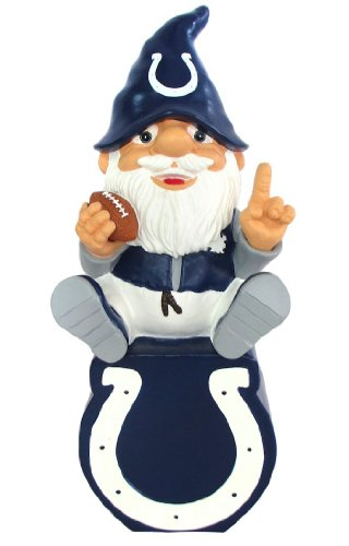 Forever Collectibles Indianapolis Colts Gnome On Team Logo