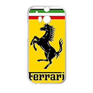 Happy Ferrari sign fashion cell phone case for HTC One M8