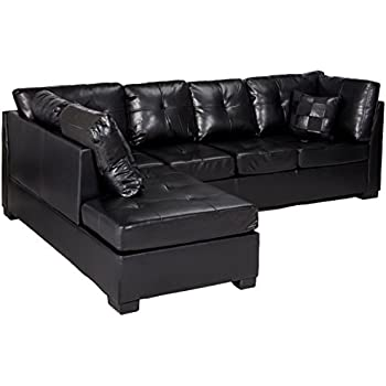 divan habitat divans chaise newman leather p black