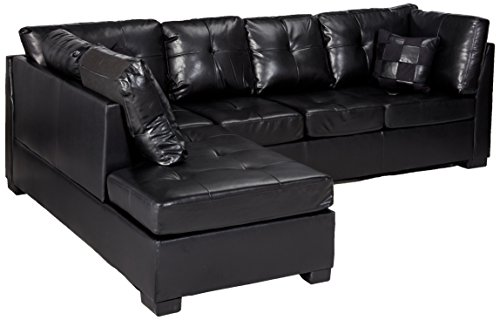 The Best Coaster Home Furnishings Contemporary Sectional Sofa Black