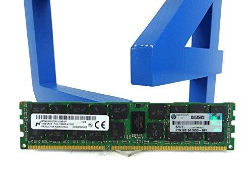 HP 16GB 2RX4 PC3L-10600R-9 KITG8 (647901-B21) -