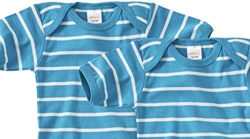 Talla 140-170 Color Azul Marino WELLYOU Body de Manga Corta