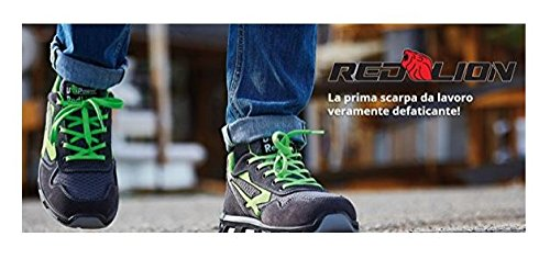 U-POWER EMOTION REDLION S1P SRC SCARPA ANTINFORTUNISTICA AirToe Alluminium, Polysoft, Save & Flex Plus, PU/PU INFINERGY