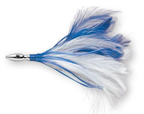 Williamson Flash Feather Rigged 04 (Blue/ White, Size- 4)