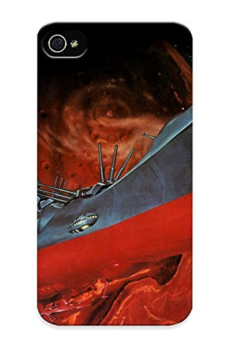 Yellowleaf Perfect Space Battleship Yamato Unknown Artist Imgur Case Cover Skin With Appearance For Iphone 4 4S Phone Case