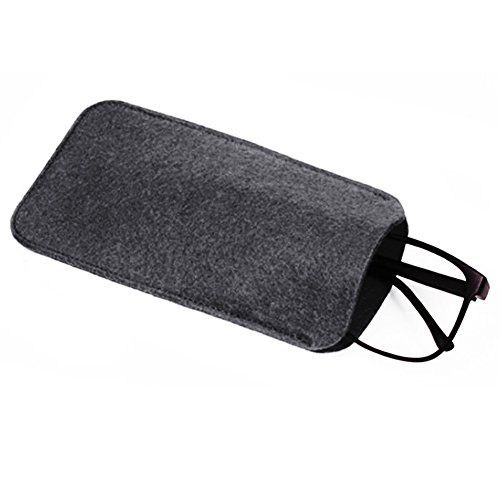bjduck99 Fashion Soft Wool Eyeglasses Reading Glasses Pen Pouch Bag Spectacle - Soft Cases Spectacle