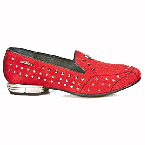 New Rock Sleepers Rouge Chaussons M.8416-S2
