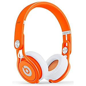 Beats by Dr. Dre Mixr Headphones, Neon Orange