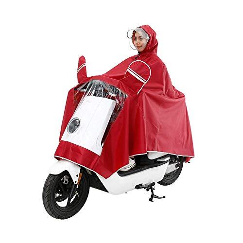 Elettrica Rain Winered Motocicletta Maschera Women Giovane Raincoat Poncho Impermeabile Uomo And Cappello Doppio Nude To RO6aqq5