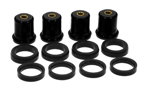 Firebird Rear Bushings - Prothane 7-226-BL Black Rear Control Arm Bushing Kit with Shells