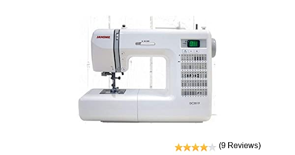 Janome DC2013 - Máquina de coser computarizada: Amazon.es: Hogar