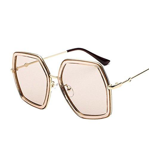 Aoligei Rond visage metal lunettes de soleil femme lunettes de soleil mans personnalité Style élégant de lunettes pgGNk