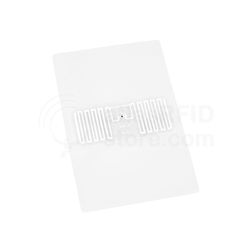 Vulcan RFID Custom Folded Tab Tag (SMARTRAC Web Lite - 3.0 x 2.0 in) - 1,000 Tags