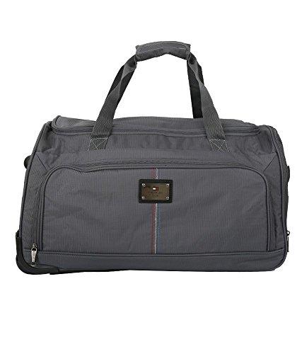 Tommy Hilfiger Polyester 34 cms Grey Travel Duffle (TH/DAL07260)