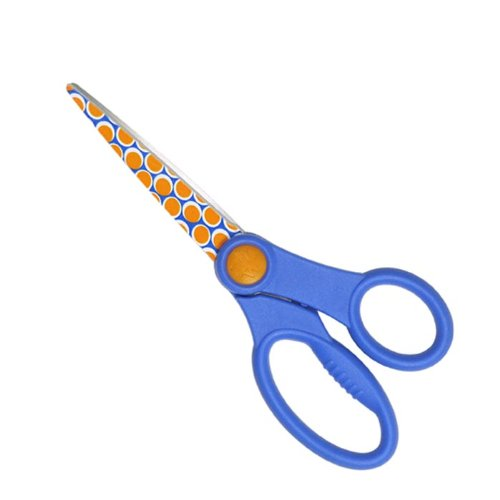 Westcott B'dazzled Bubbles & Squiggles Scissors with Microban Protection, 8-Inch (15054)