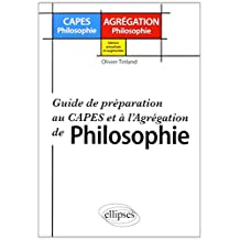 Guide de Preparation Au Capes ET a l'Agregation de Philosophie Edi
