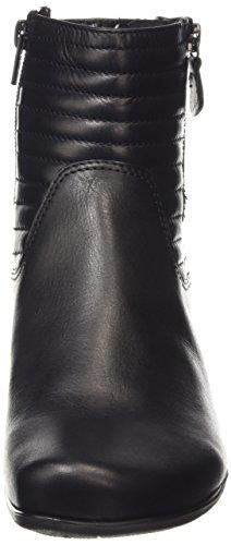 Gabor Jackson - botines bajos con forro cálido de cuero mujer negro - negro (negro piel)