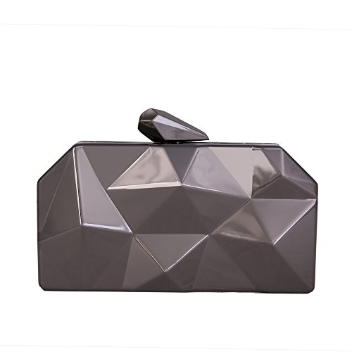 Women's Alloy Elegant Chic Fashion Evening Clutch Bags Bling Evening Handbag Purses Clutch Chain - Clutch Print Vintage