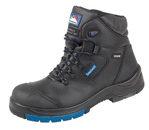 Del Himalaya 5160–13.0sintética suela de goma ninguno S1PA–Botines Botas de seguridad S3, tamaño 13, color negro