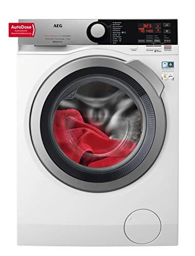 AEG L7FE78695 Waschmaschine / AutoDose – automatische Waschmitteldosierung / ProSteam – Auffrischfunktion / 9 kg / Leise…