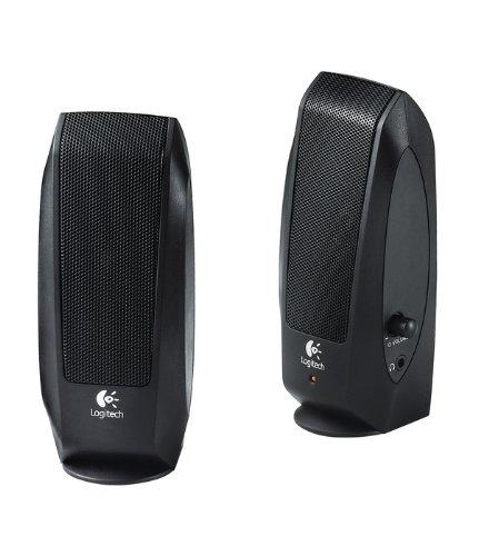 Logitech S-120 2.0 PC-Lautsprecher-System OEM schwarz