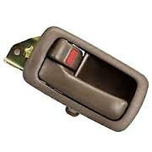 Fits 92-96 Camry Left Driver Front/Rear Interior Door Handle & Bezel Brown