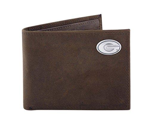 georgia bulldog purse leather - 4