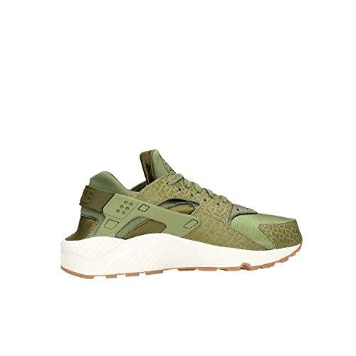 Nike Dames Wmns Lucht Huarache Run Prm Sneakers Palmgroen Zeil 300