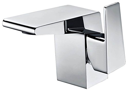 ALFI brand AB1470-PC Polished Chrome Modern Single Hole Bathroom Faucet