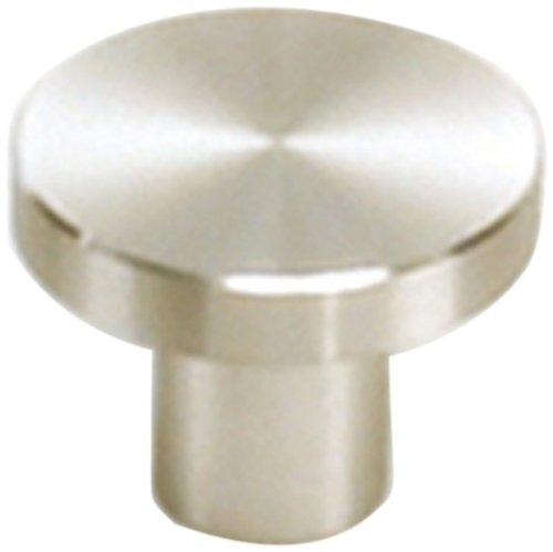 - Laurey 89401 Cabinet Hardware Stainless Steel Knob, 1-1/4-Inch