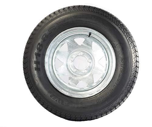Trailer Rims And Tires - 205/75D14 Trailer Tire (205/75D14 Trailer Tire - Galvanized Rim)