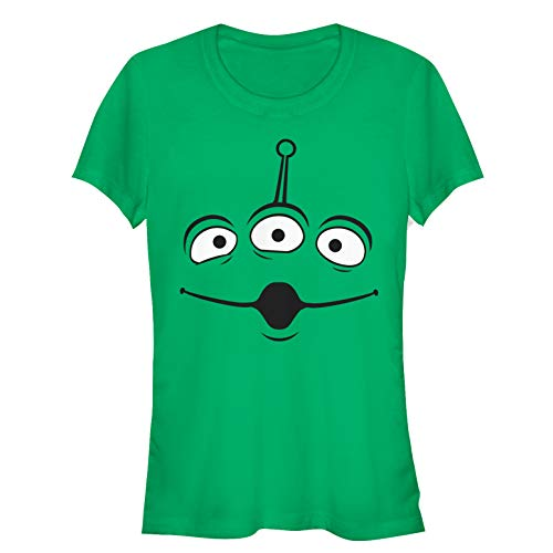 Toy Story Juniors' Squeeze Alien Costume Tee Kelly Green T-Shirt