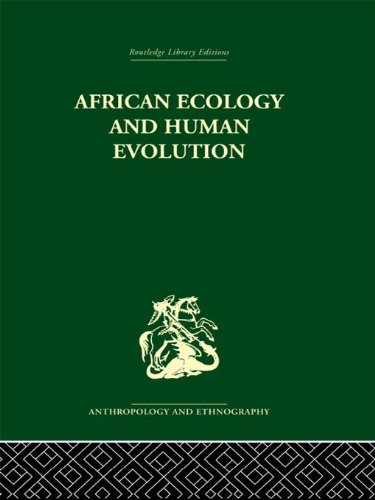 African Ecology and Human Evolution Pdf
