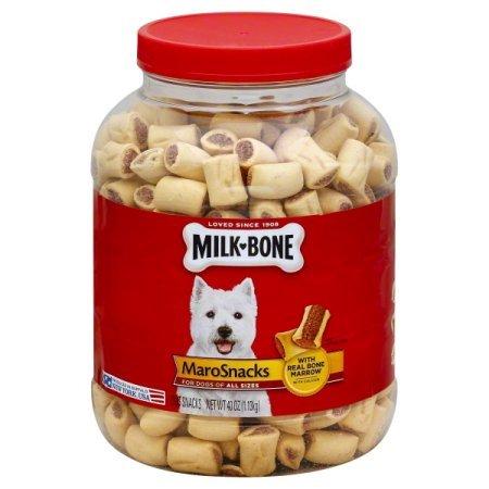 Milk-Bone MaroSnacks Dog Treats, 40.0 OZ (Flavor Snacks, 40.0 OZ)