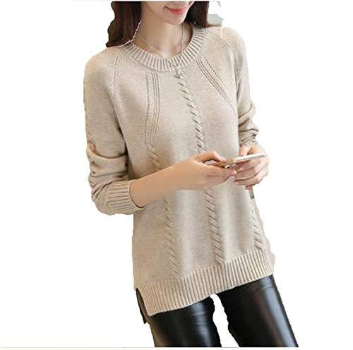 Autumn Women Sweater Outerwear Fashion O-Neck Pullover Winte