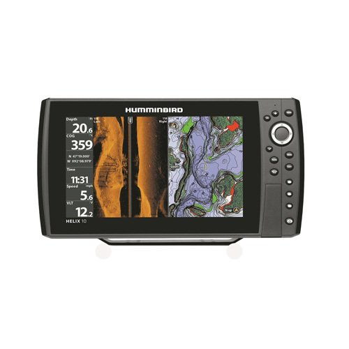 Humminbird 409990-1 Helix 10 SI 600x1024 Sonar with GPS, 10.4'