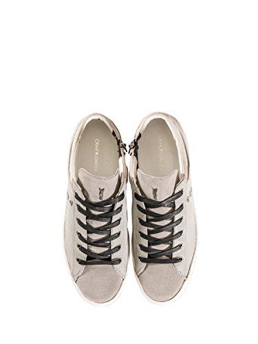 Crime , Chaussures de ville à lacets pour homme gris gris