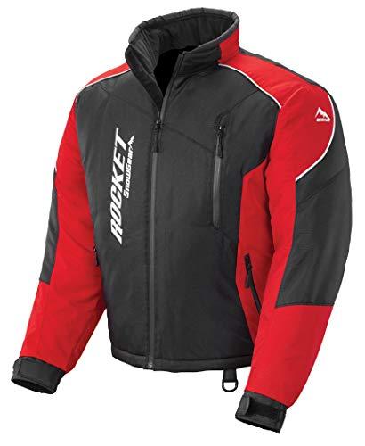 Joe Rocket Men's Snowgear Storm XC Jacket Black/Red XX-Large