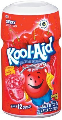 Kool Cherry Drink Mix 8 QT (Pack of 24) by Kool-Aid