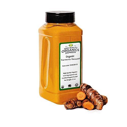 HQOExpress Organic Turmeric Powder