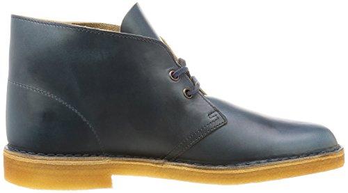 Clarks Originals Détente Homme Boots/Bottes Desert Boot En Cuir Bleu Taille 46