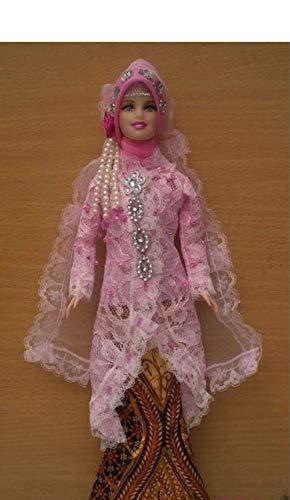 Muslim Doll With Handmade Clothes Hijabi Doll Girls Eid Gift /…