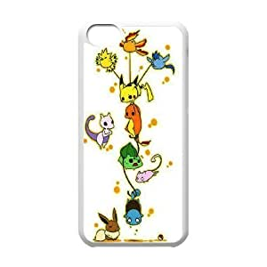 James-Bagg Phone case Cute Pikachu Protective Case For Iphone 6 plus (5.5) Style-14