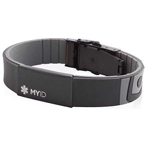 myID Sleek Black Gray