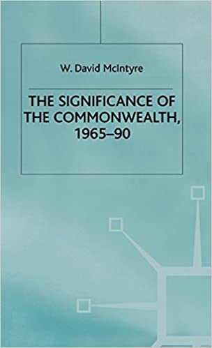Amazon com: The Significance of the Commonwealth, 1965-90