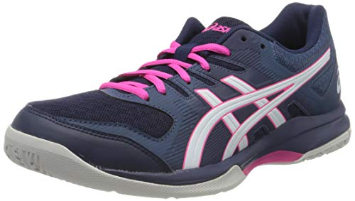 ASICS Damen Gel-Rocket 9 1072a034-002 Volleyballschuhe, blau, 35.5 EU