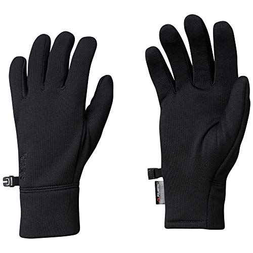 Mountain Hardwear Unisex Power Stretch Gloves Black ()