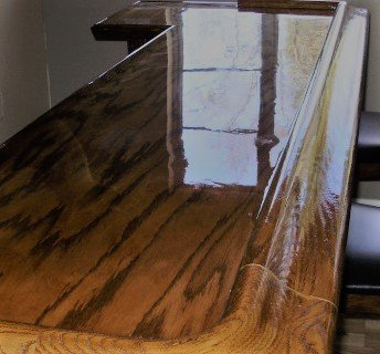 Rain Forest Epoxy - Commercial Grade Crystal Clear Epoxy Resin for Bar Tops & Tables - 16 oz Kit. by D&D Synergy (Image #4)