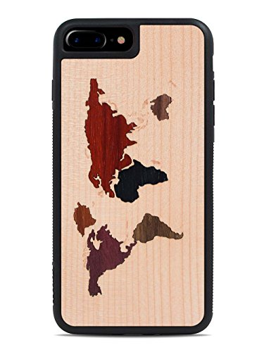 carved-world-map-inlay-apple-iphone-7-plus-traveler-wood-case-black-protective-bumper-with-real-all-